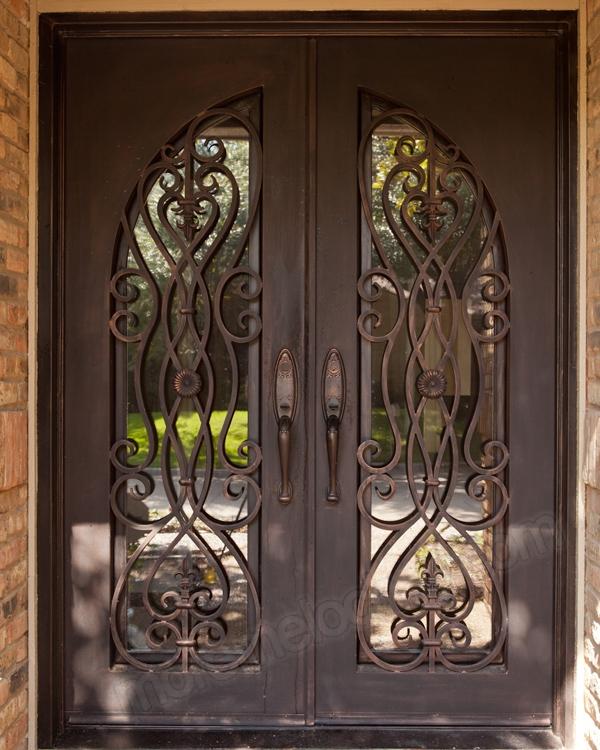 железные двери на заказ кованые