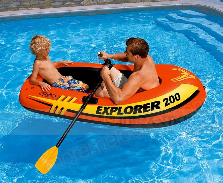 лодка explorer 200 двухместная давно 95 кг
